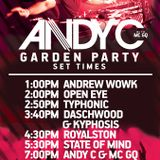 Open-Eye - CL Garden Party - January 2015 (Andy C, State of Mind, Royalston)
