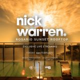 Nick Warren @Rosario Sunset Rooftop by Boom Box Mag - 15/02/18