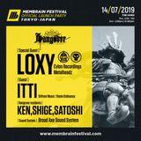 Loxy - Membrain Festival Launch Japan 2019 promo mix