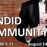 A Candid Community - Audio