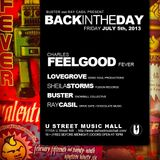 Charles Feelgood Live at Back in the Day 07.05.13