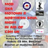 CDH UK Charity Mod, Ska, Motown & Northern Soul Taster