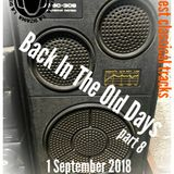 Back In The Old Days 2018 - hour 1 - Anna Voll
