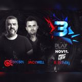 2017.11.11. - Szecsei b2b Jackwell - NIGHTLIFE 3rd BDay - Club PLAY, Budapest - Saturday