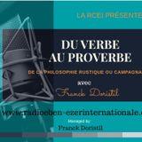 PODCAST #882 DU VERBE AUX PROVERBES 2nd Edition - Extrait du livre en préparation: DE LA PHILOSOPHIE
