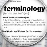 Terminology L06
