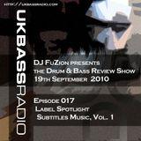 Ep. 017 - Label Spotlight on Subtitles Music, Vol. 1