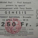 Genesis live LAMB at Vorst Nationaal Brussels - April 12th 1975