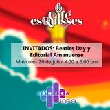 Café esQuisses #12: Beatles Day y Editorial Amanuense