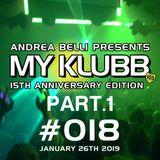 MY KLUBB #018 15th Anniversary Mix Part.1