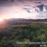 Deep Licks September 2017