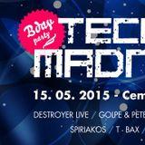 Baxik - Techno Madness B- Day edition