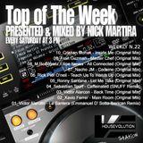 Top of The Week 022 (Radio Program)