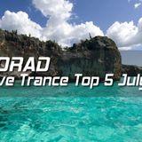 Massive Trance Top 5 July 2013