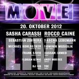 "Frank Savio ""Live @ Move 20. October 2012"" [Tanzhaus-West, FFM]"