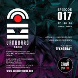 VANGUARD RADIO Episode 017 with TEKNOBRAT - 2016-08-27TH CHUO 89.1 FM Ottawa, CANADA