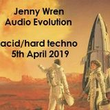 Jenny Wren - Audio Evolution - acid/hard techno vinyl show 091 (air date 05.04.19)