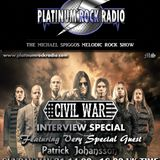 The Michael Spiggos Melodic Rock Show 31.05.2015 featuring Patrick Johansson (Civil War)