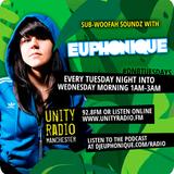 09/07/13 Euphonique on Unity Radio 92.8FM (Manchester)