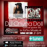 ItzYourzRadioLive on 97.5 (7-23-17) DJ Chyna Doll Ruff Ryders Bad Boy Rocafella BDP 80s 90s 2khiphop