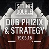 Seeing Double Invites: Dub Phizix & Strategy Promo Mix: Switchback