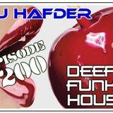 DJ HafDer - Deep Funky house # 200
