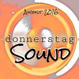 donnerstag : SOUND (August 2016)
