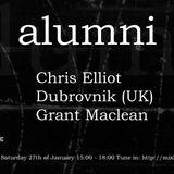 alumni Episode #1 feat Chris Elliot, Dubrovnik (UK) & Grant Maclean