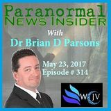 Paranormal News Insider with Dr. Brian Parsons_20170523_#314