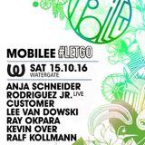 Lee Van Dowski - Live @ Mobilee #Letgo, Watergate (Berlin, DE) - 15.10.2016