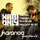 Xabi Only - Global Trance Sessions 001 (inc. Karanda Guestmix) [10-10-2011]
