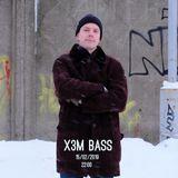 X3M BASS w/ Mechtatel DJ - 15/02/2019