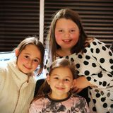 Lola, Lily and Ivy with their Radio Experience Show