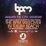 EDU IMBERNON - SONICA SHOWCASE @ LAS RANITAS (TULUM) - THE BPM FESTIVAL 2015