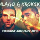 Dilago & Krokski podcast January 2014