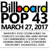 BILLBOARD POP 40 *clean* MARCH 27, 2017