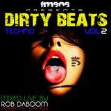 Dirty Beats Vol 2: Techno FM808 @robdaboom