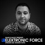 Ramon Tapia - Elektronic Force Podcast 032 (2011.07.21.)