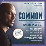 COMMON & TALIB KWELI DOWN UNDER TOUR MIXTAPE