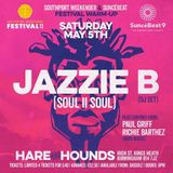 Paul Griff & Richie Barthez - Jazzie B (Soul II Soul) Warm up live @ The Hare & Hounds 05.05.2018