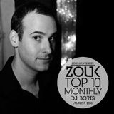 March 2016, Brazilian Zouk Top 10, Dj Boris
