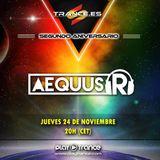 Aequus R presenta @ 2º aniversario de trance.es