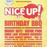 NICE UP! 8th Birthday BBQ mix
