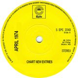 NEW CHART ENTRIES FOR APRIL 1974