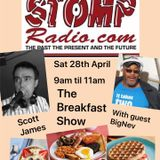 The Scott James Breakfast Show ...Listener Special... I'm Joined By Neville Miller AKA BIG NEV
