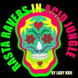 Rasta Ravers in Acid Jungle by Lady Krii
