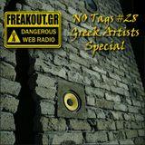 NO Tags #28 (28-05-2013) on www.freakout.gr - Greek Artists Special