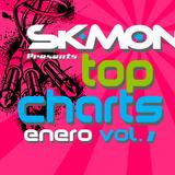 DjSk-MoOn Presents Top Charts Enero Vol. 1