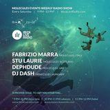 Stu Laurie - Ibiza Live Radio - Molecules Events Weekly Radio Show - 01/08/2015