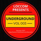 Loccom - Underground Vol 003